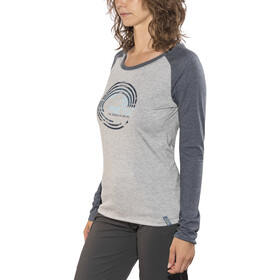 Meru W's Katrineholm LS Shirt Blue Wing Teal